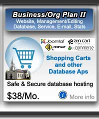 Shopping Cart web hosting