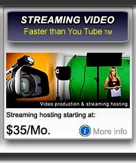Streaming Video Hosting San Francisco Bay Area